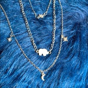 Jewelry - 🔵Multi-Layer Elephant Necklace